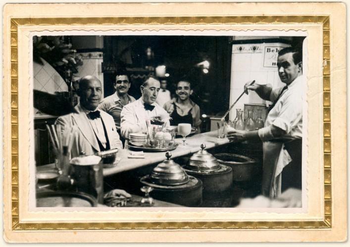 El Tío Ché con colboradores