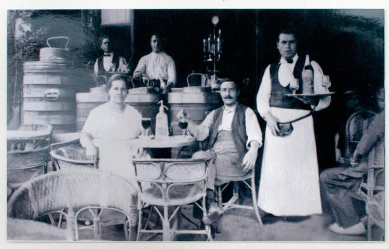 2ª generación del Tío Ché. Jerónima y Pedro (1925)