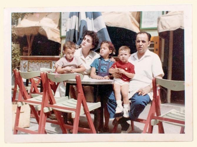 3ª Generación. Maruja Cano, Alfonso Iborra e hijos