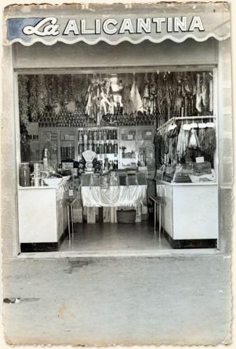 Tienda Alicantina 1954