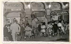 La horchatería en 1950