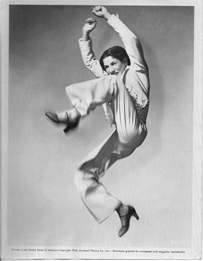 La primera bailaora con pantalones