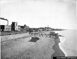 Playa Bogatell, comienzos XX