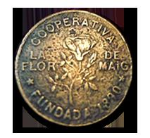 Moneda de Flor de Mayo