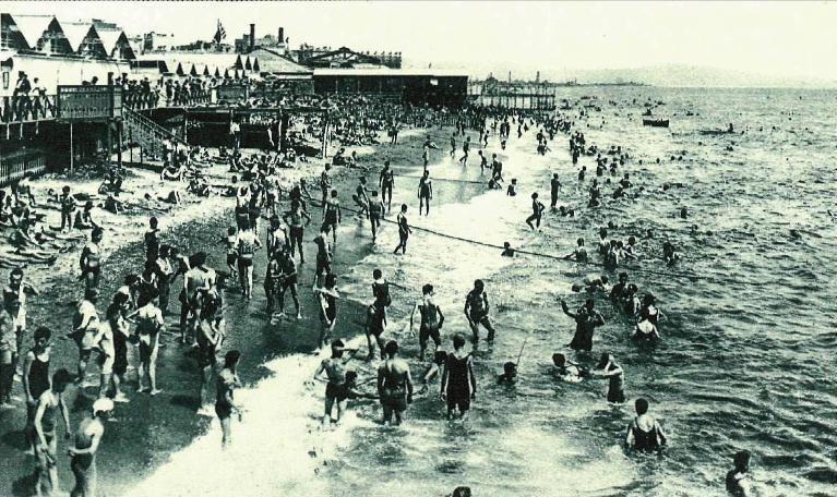 Playas Barcelona 1920
