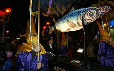 El horchatero centenario de Poblenou y su versión del entierro de la sardina