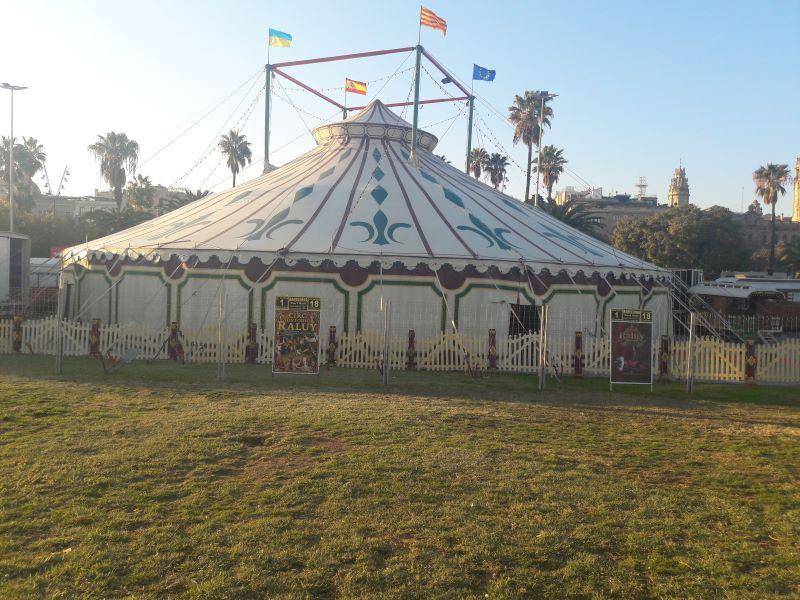 Despedida a Carlos Raluy, legendario hombre de circo